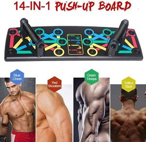 14 en 1 push up rack board